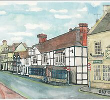 Winchcombe High Street/ The White Hart by doatley