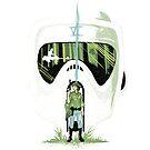 Bike trooper helmet by Harantula