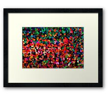 Abstract mix colors Framed Print