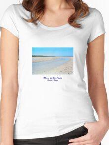 Morro de Sao Paulo - Bahia - Brazil Women's Fitted Scoop T-Shirt