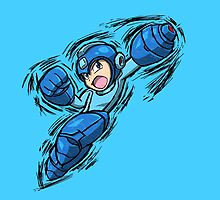 Mega Man by Hawke525