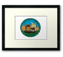 Wombat Framed Print