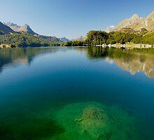 Lake Sils - Lej da Segl by Erwin G. Kotzab