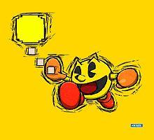 Pac-Man by Hawke525
