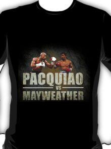 Pacquiao vs Mayweather T-Shirt