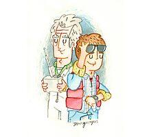 Doc & Marty Photographic Print