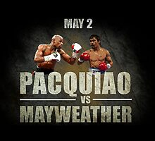 Pacquiao vs Mayweather by ches98