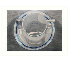 Cup & Saucer Art Print