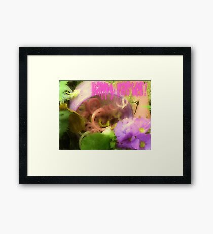 Happy Easter!!! Framed Print