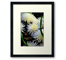 For Mum Framed Print