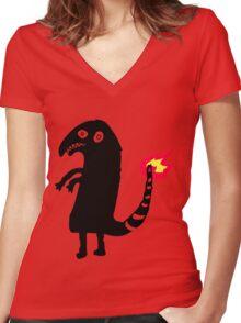 Shartmander Women's Fitted V-Neck T-Shirt