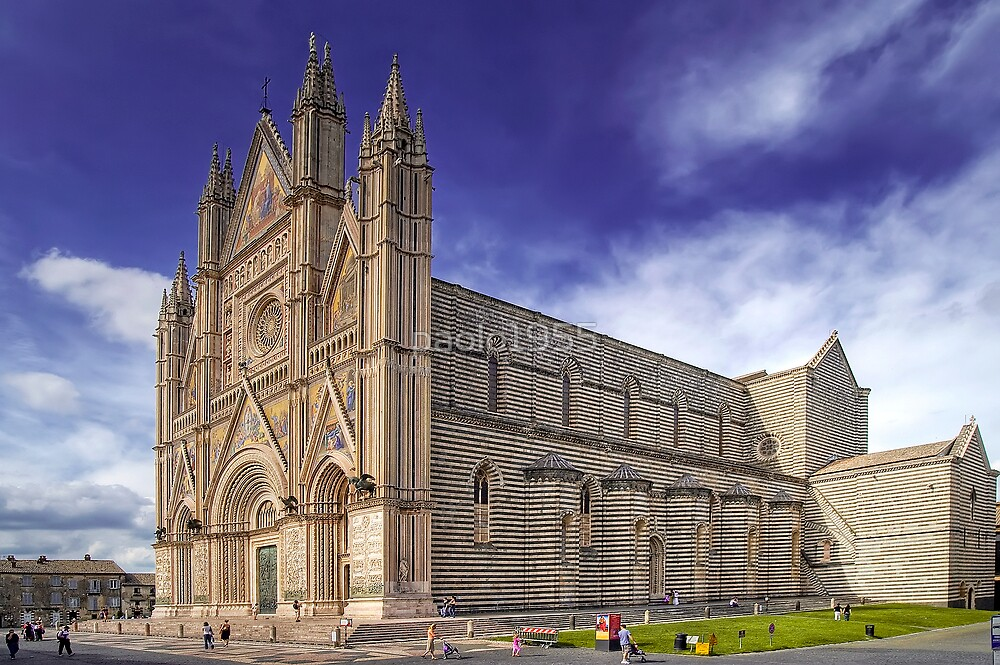 The Duomo of Orvieto  by paolo1955