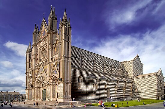 The Duomo of Orvieto  by paolo1955
