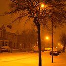 snow London by Bimal Tailor