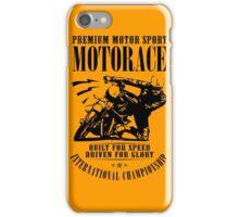 Motorace iPhone Case/Skin