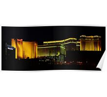 XPRO version of Las Vegas by Night Poster