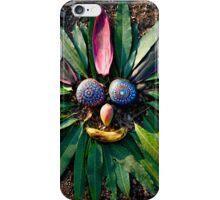 Chief Rock Face - Jungle Rock Art in Costa Rica iPhone Case/Skin