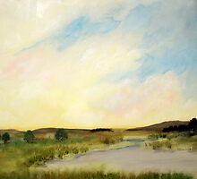 Western Landscape by Jose  DeLaRosa