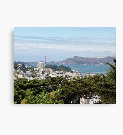 San Francisco Bay View Canvas Print