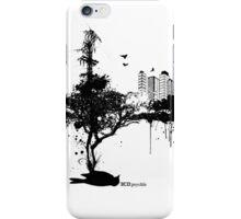 ECO-psychle black iPhone Case/Skin