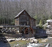 Glade Creek Grist Mill XI by Lisawv