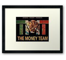 TMT | The Money Team | Floyd Mayweather  Framed Print