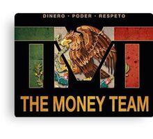 TMT   The Money Team   Floyd Mayweather  Canvas Print