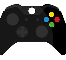 Xbox One Controller by kailee