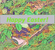Bird scene at Easter by ♥⊱ B. Randi Bailey