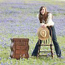 Blue Bonnet Joy by Olivia Moore