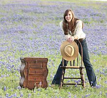 Blue Bonnet Joy by Olivia Moore