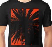 Palm Trees Silhouette - Orange Sunset Unisex T-Shirt