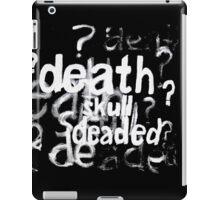 Deaded iPad Case/Skin