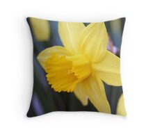 Sunshine in flower form Throw Pillow