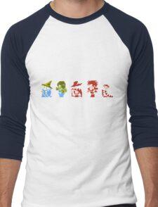 Final Fantasy - Team up Men's Baseball ¾ T-Shirt