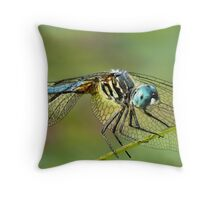 Sentinel on the pond Throw Pillow