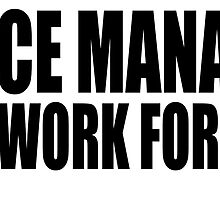 OFFICE MANAGER WILL WORK FOR BEER by fancytees