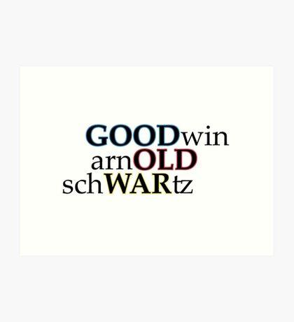 """Good Old War """"Broken Into Better Shape"""" Art Print"""