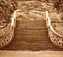 Sepia Steps by Trev159