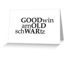 Good Old War Greeting Card