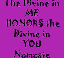 Namaste by mellielee