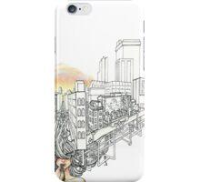 Sewer Princess Sunset iPhone Case/Skin
