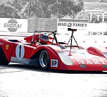 1971 Ferrari 312 P Sparling II by DaveKoontz