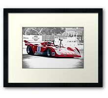 1971 Ferrari 312 P Sparling II Framed Print