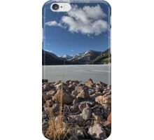Frozen Smith and MoreHouse reservoir in Utah iPhone Case/Skin