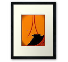 And The Horse You Rode In On Framed Print