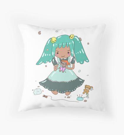 Misschievous MISFITS XOX 7DS Throw Pillow