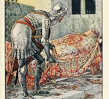 King Arthur's Knights - The Tale Retold for Boys and Girls by Sir Thomas Malory, Illustrated by Walter Crane 91 - Sir Lancelot in the Chapel Perilous by wetdryvac