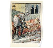 King Arthur's Knights - The Tale Retold for Boys and Girls by Sir Thomas Malory, Illustrated by Walter Crane 91 - Sir Lancelot in the Chapel Perilous Poster