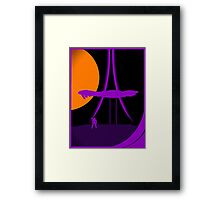 Under Cover of Night Framed Print